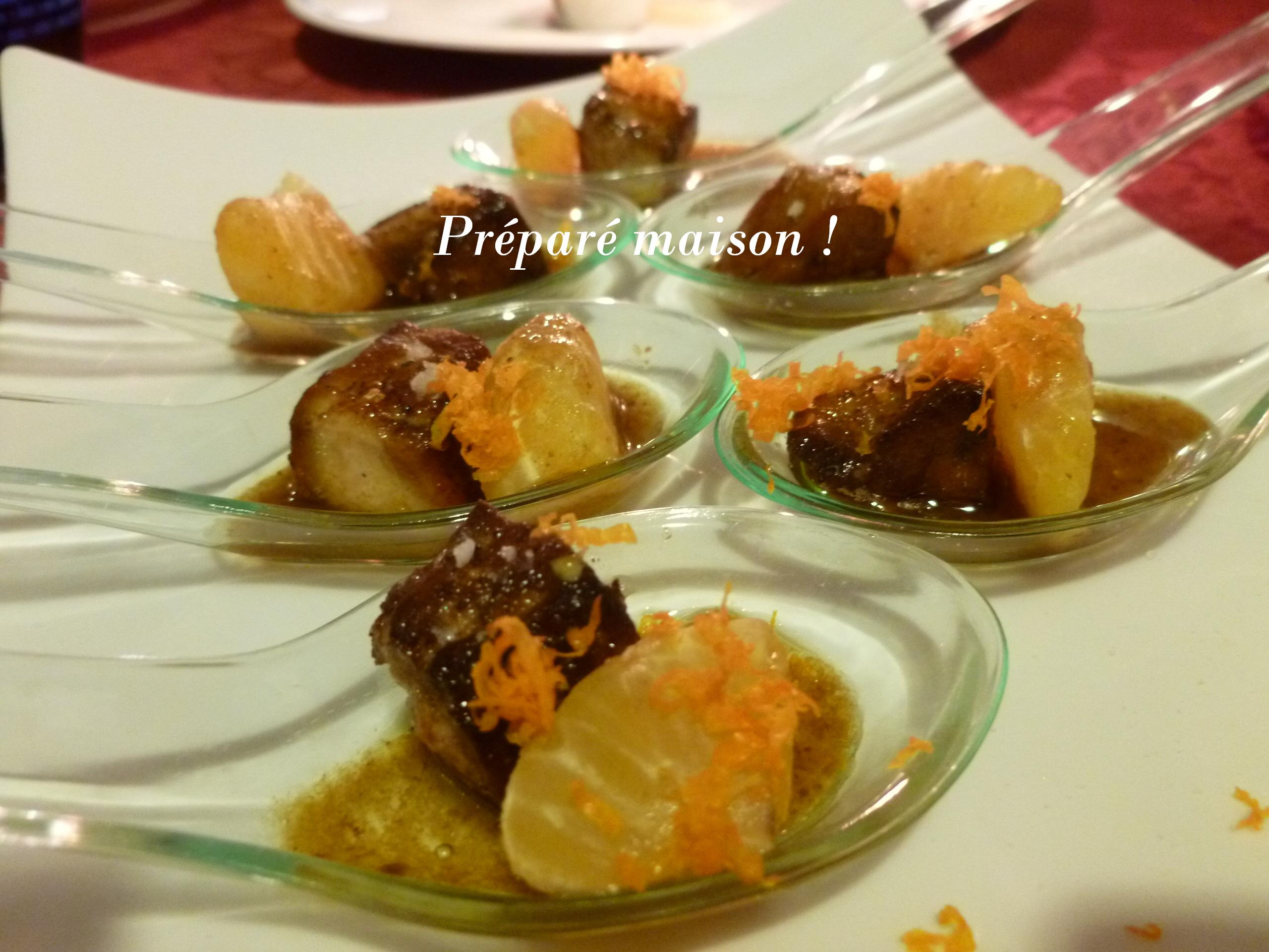 Ap ro pr par maison for Amuse bouche foie gras aperitif